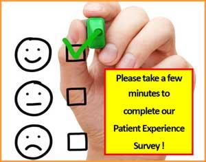 Take our patient survey