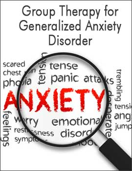 Group therapy for Generalized Anxiety Disorder